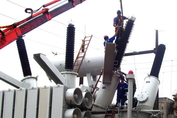 manutenção preventiva em subestações elétricas